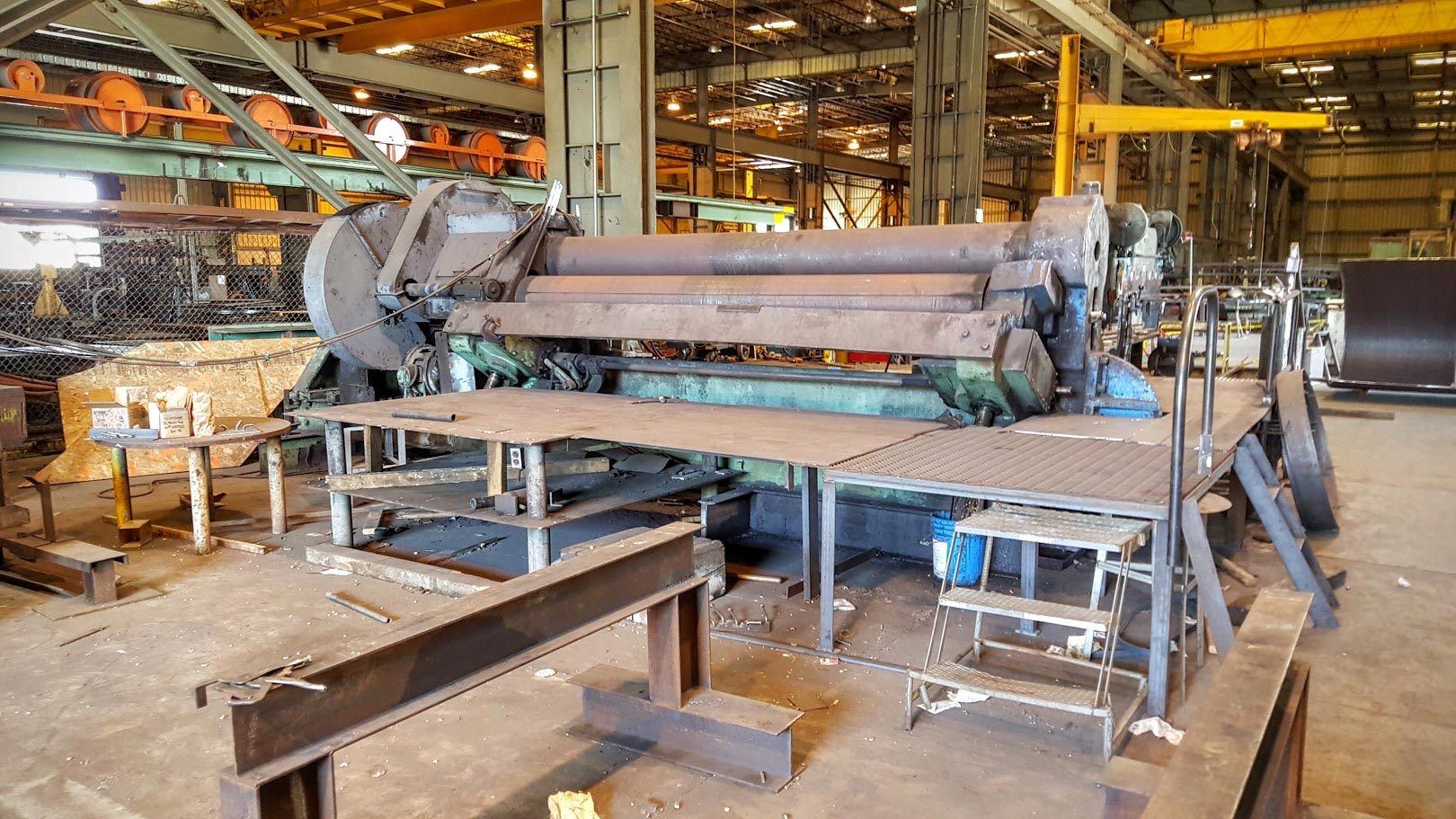 Albany Steel Partners with Fabricators who have high capacity rolls